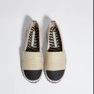 🌱Zara summer Espadrilles shoes size 36 ( Us 6)